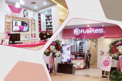 Flawless has moved to the new South Entertainment Mall in SM Mall of Asia