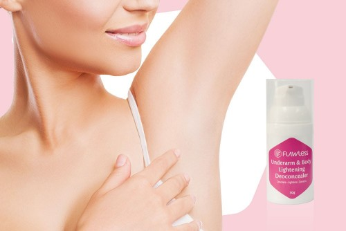 The all new Underarm & Body Lightening Deoconcealer by Flawless