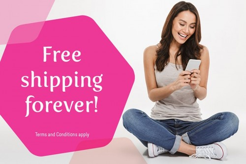 Flawless Online Shop Offers Free Shipping Forever