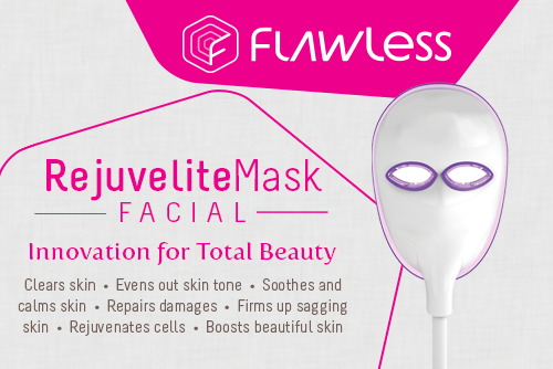 Flawless Rejuvelite Mask Facial: Innovation  for Total Beauty