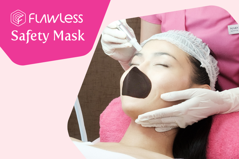 Be #Guaranteed Hygienic and Safe with the Flawless Safety Mask